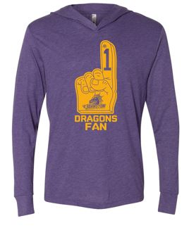 Johnston '18 Fall Order - #1 Dragons Fan (Hooded Tshirt)