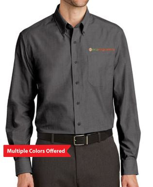 EcoEngineers - Adult TALL Crosshatch Easy Care Shirt