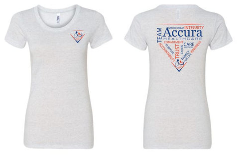 Accura Healthcare - Ladies Triblend T-Shirt