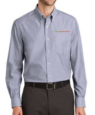 EcoEngineers - Adult Crosshatch Easy Care Shirt
