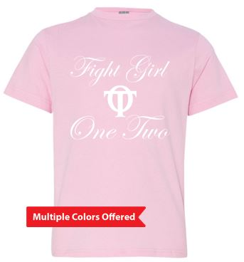 Fight Girl One Two - Youth Tshirt