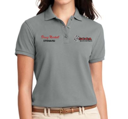 SCCA Ladies Short Sleeve Polo