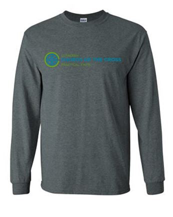 Lutheran Church of the Cross - Youth/Adult Long Sleeve T-shirt