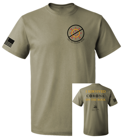 Unit 779 EAS - Rothco Coyote Brown Adult T-Shirt