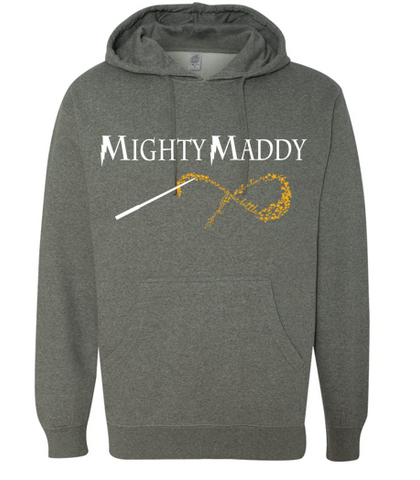 Mighty Maddy - Midweight Hooded Pullover Sweatshirt