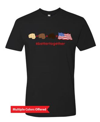 #Bettertogether - Unisex Short Sleeve Crewneck T-Shirt