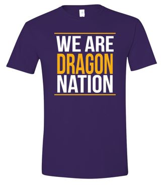 Johnston '18 Fall Order - We are Dragon Nation (Purple)