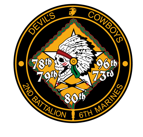2nd Battalion 6th Marines - Sticker