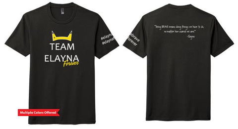 Team Elayna Forever -Youth Prefect Tri T-Shirt