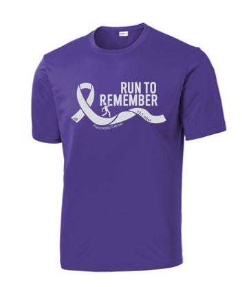 Run To Remember - Unisex PosiCharge Competitior T-Shirt (Front Only)