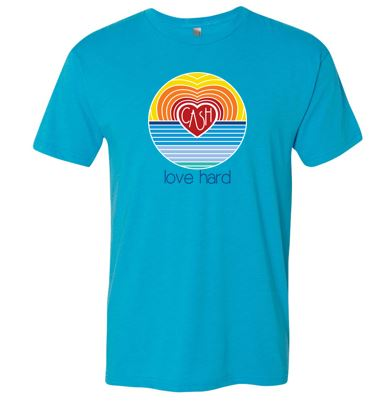 Love Hard - Unisex Short Sleeve Tshirt (Multiple Colors)