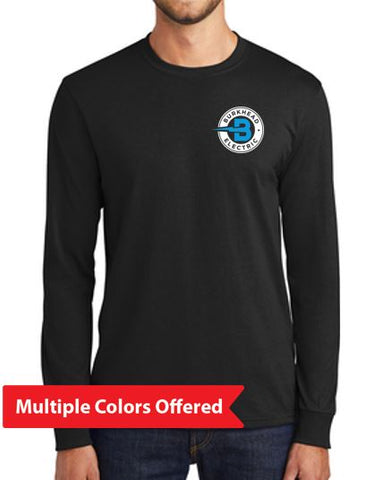 Burkhead Electric - Adult 50/50 TALL Long Sleeve T'Shirt