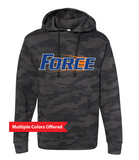 Iowa Elite Force Spring '20 -  Adult Midweight Hooded Sweatshirt (Force Design)