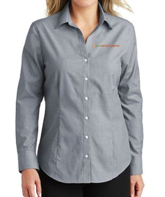 EcoEngineers - Ladies Crosshatch Easy Care Shirt