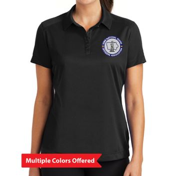 Iowa National Guard Association - L:adies Nike Dri-FIT Pebble Texture Polo