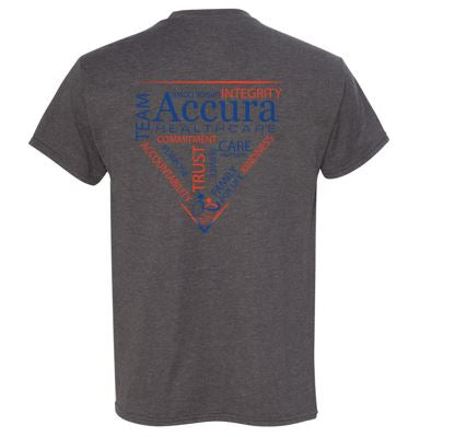 Accura Healthcare - Unisex X-Temp Tshirt (Multiple Colors)