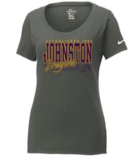 Johnston '18 Fall Order - Established Design (Ladies NIKE Core Cotton TS - Multiple Colors)