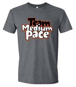 Team Medium Pace - Unisex Tshirt (Available in Multiple Colors)