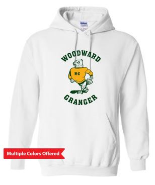Woodward Granger Fall 2020 - Adult/Youth Hooded Sweatshirt (Standing Hawk)