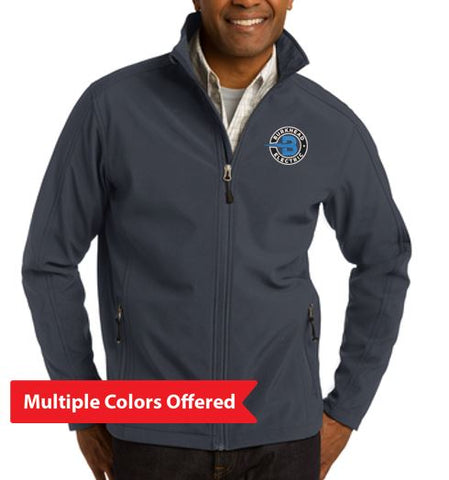 Burkhead Electric - Adult TALL Soft Shell Jacket