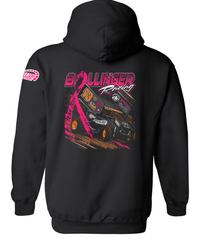 Bollinger Racing/Jessica's Fight - Hooded Sweatshirt