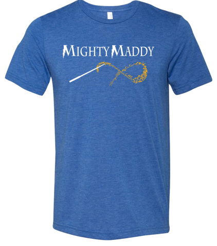 Mighty Maddy - Triblend Tshirt in Various Colors (Youth/Adult)