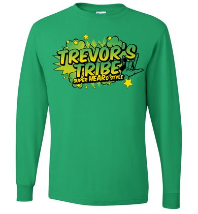 Trevor's Tribe - Long Sleeve Tshirt