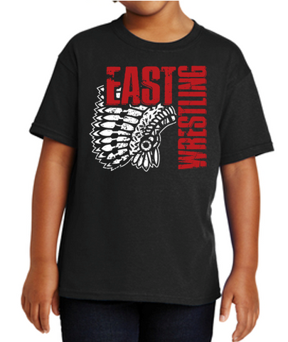 East High Wrestling Club - Youth 100% Cotton T'Shirt