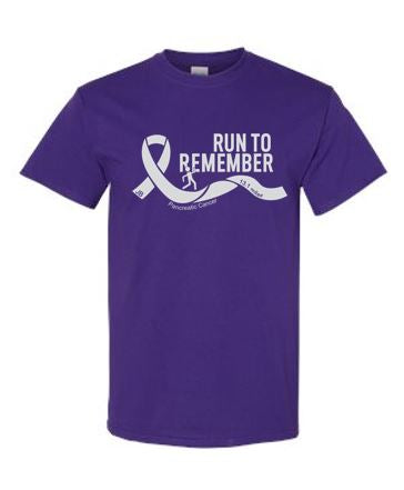 Run To Remember - Unisex 100% Cotton T-Shirt (Front Only)