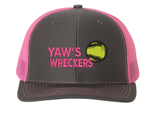 Yaw Wreckers - Snapback Trucker Cap (Multiple Colors)