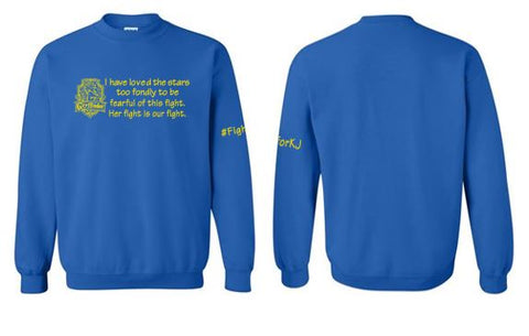 Fight For KJ - Youth/Adult Crewneck Sweatshirt