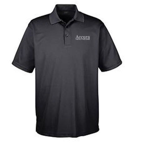Accura Healthcare - Unisex UltraClub Polo (Multiple Colors)