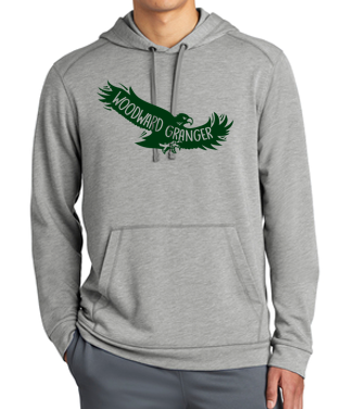 Woodward Granger PTO 2019 - Ladies/Adult Triblend Hooded Pullover (Flying Hawk)