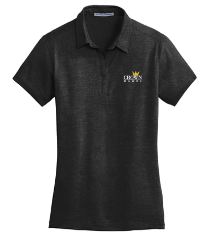 Crown Homes - Ladies Meridian Cotton Blend Polo (Available in Multiple Colors)