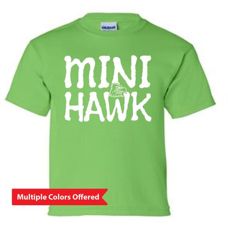 Woodward Granger Winter '19 - Youth 100% Cotton T'Shirt (Mini Hawk)