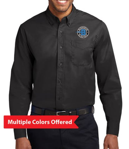Burkhead Electric - Adult Button-down TALL Long Sleeve Shirt