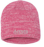 Accura Healthcare - Marled Knit Beanie (Multiple Colors)