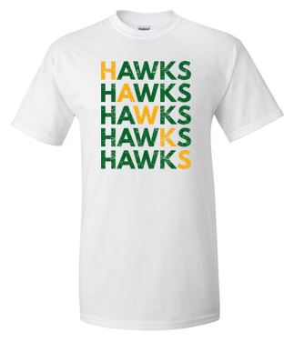 Woodward Granger Fall '18 - Youth/Adult Tshirt in Multiple Colors (HAWKS)