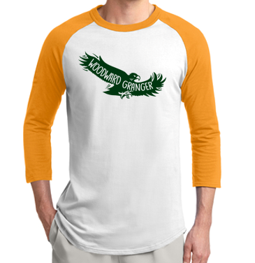 Woodward Granger PTO 2019 - Youth/Adult Raglan in Multiple Colors (Flying Hawk)