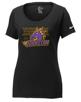 Johnston '18 Fall Order - Fight Song (Ladies NIKE Core Cotton TS)
