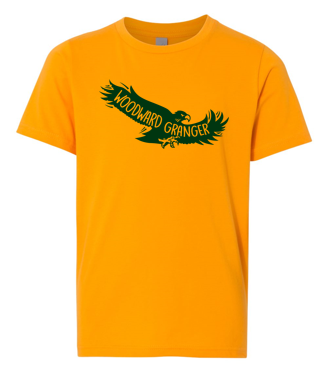 Woodward Granger PTO 2019 - Youth Tshirt in Multiple Colors (Flying Hawk)