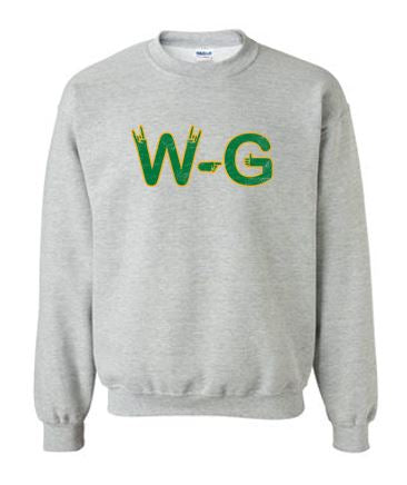 Woodward Granger Fall 2020 - Adult/Youth Crewneck Sweatshirt (WG Hand)