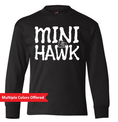 Woodward Granger Winter '19 - Youth Long Sleeve T'Shirt (Mini Hawk)