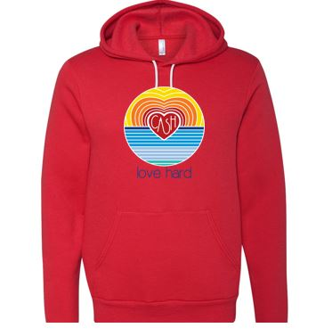 Love Hard - Unisex Hooded Sweatshirt (Multiple Colors)