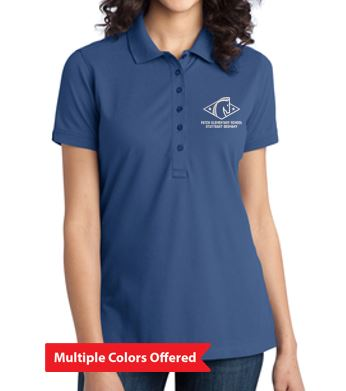 Patch Spirit Wear - Ladies Port Authority Stretch Pique Polo (Embroidery)