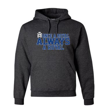 Once A Royal - Adult/Youth NuBlend Hooded Sweatshirt