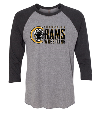 SEP Wrestling - Youth/Unisex Raglan Tee (Wrestling Design)