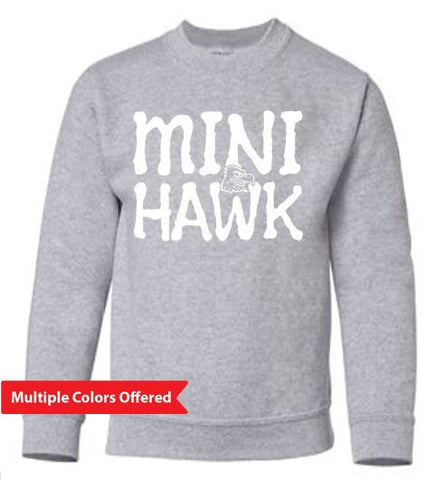 Woodward Granger Winter '19 - Youth Crewneck Sweatshirt (Mini Hawk)