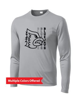 Bondurant Farrar PTO Spring 2021 - Youth/Adult PosiCharge Long Sleeve T-Shirt (Blue Jay Design)
