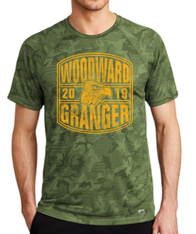 Woodward Granger Fall '19 - Adult OGIO Phantom Tshirt (2019 Design)